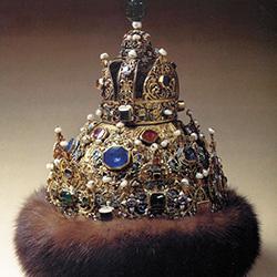 Корона астраханских ханов. XVI век
