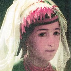 Казанская татарка. В.Г. Худяков. 1869. Фрагмент