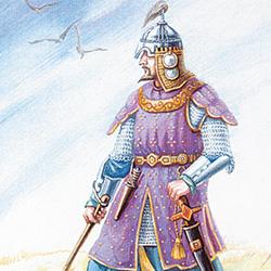 Крымско-татарский воин