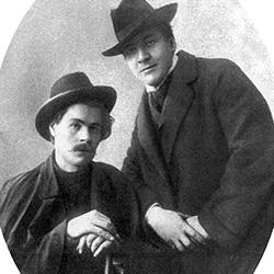 Ф.И. Шаляпин и Максим Горький