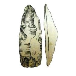 Каменное тесло эпохи неолита