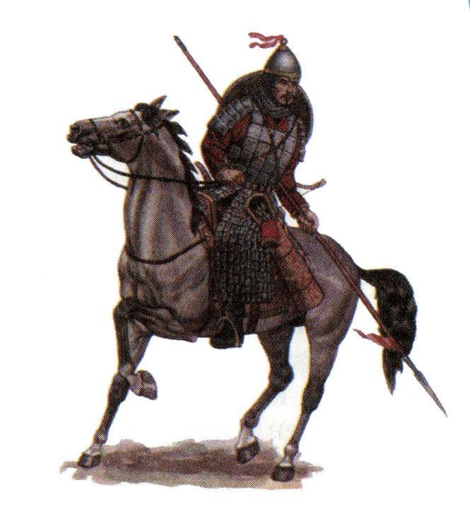 Кимакский воин X-XI вв.