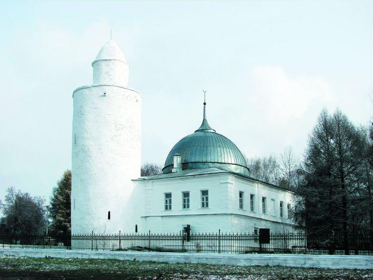 Минарет ханской мечети г. Касимов. 1475 г.